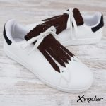 flecos zapatillas ante chocolate par