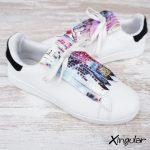 flecos zapatillas street art par 2