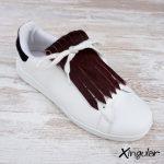 flecos zapatillas vino tinto