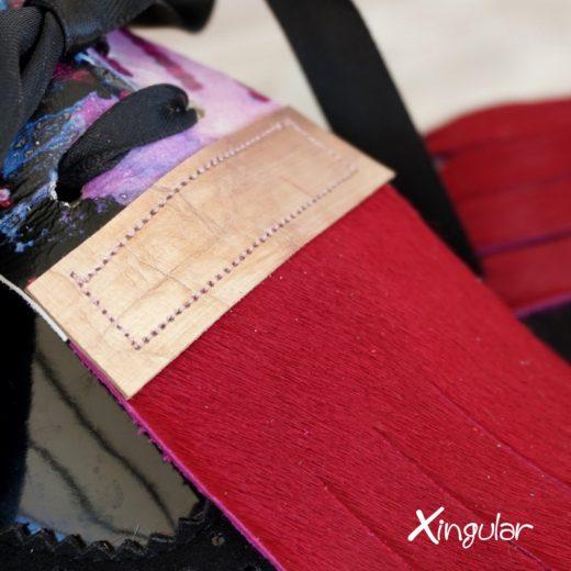 lengüetas zapatos california detalle