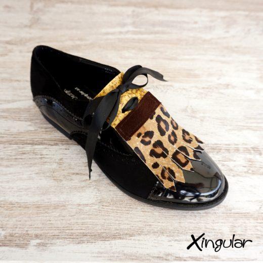 precio moderado sombras de encanto de costo Lengüetas Zapatos Leopardo