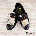 lengüetas zapatos tierra par