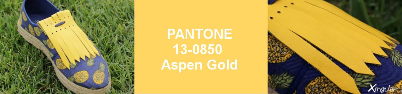 PANTONE PRIMAVERA VERANO 2019-Aspen Gold