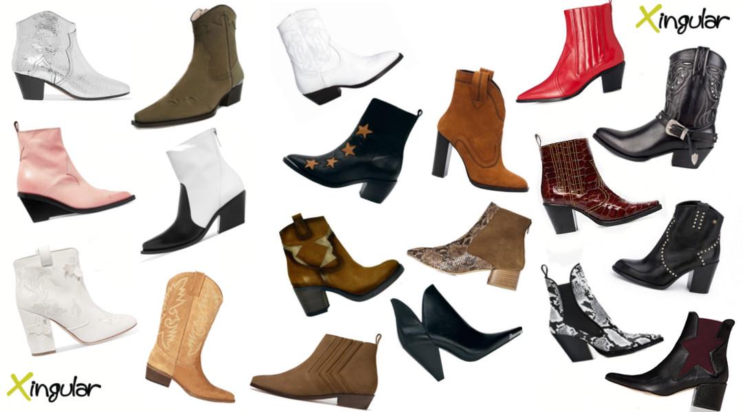 Las botas cowboy han venido para quedarse - diferentes modelos