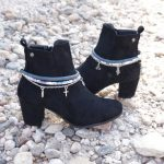 pulsera botas arty azuladas par BN