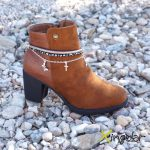 pulsera botas gaudi bronce BM