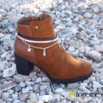 Pulsera Botas Serpiente Pressed Rose
