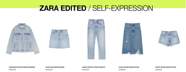 Zara Edited- el nuevo programa de la firma que te permitira customizar prendas -4