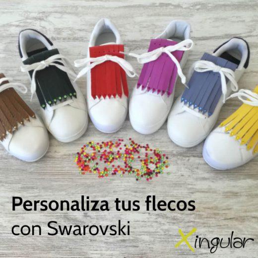 Flecos Swarovski Personalizados