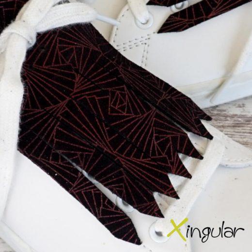 flecos zapatillas art geometric detalle 2