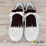 flecos zapatillas art geometric par 2