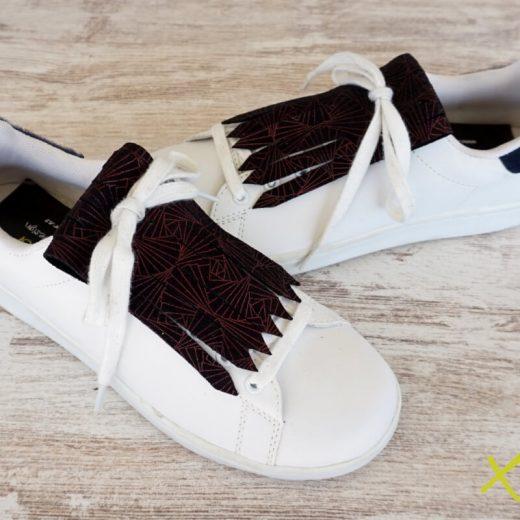 flecos zapatillas art geometric par