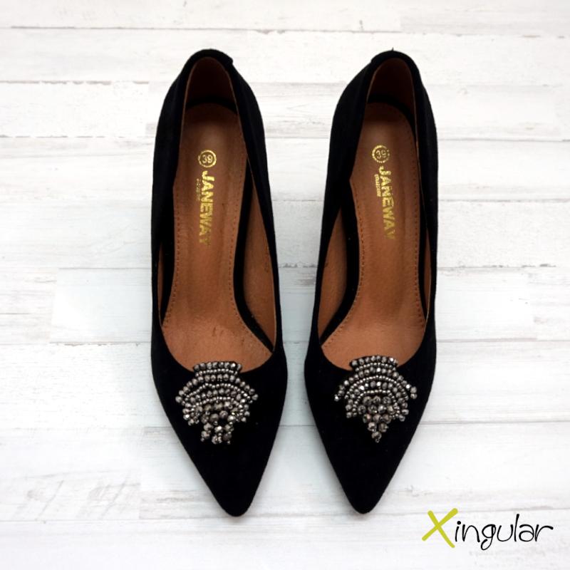 broche zapato espiga